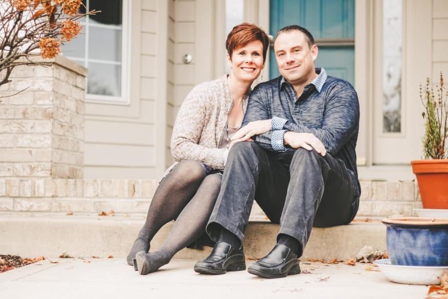 Wife and Husband portrait