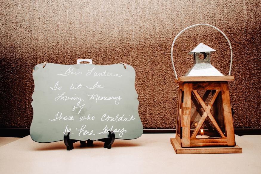 Wedding Lantern Detail