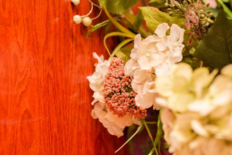 Ceruti's floral arrangement